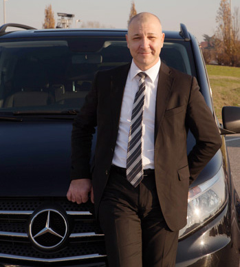 chauffeur service milano